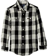 Polo Ralph Lauren Kids - Plaid Cotton Workshirt (Little Kids/Big Kids)