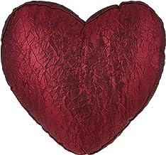 وسادة ديكور على شكل قلب 550 جرام مقاس 45 في45 سم