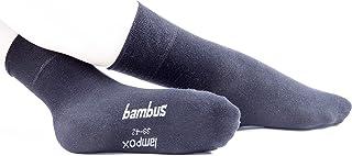 lampox, Calcetines de bambú (6 pares) transpirables para negocios