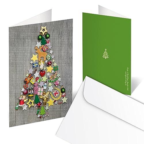 Weihnachtskarten Klappkarten Amazonde