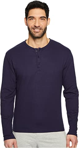 Kenneth Cole Reaction Long Sleeve Waffle Crew Single