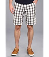 U.S. POLO ASSN. - Flat Front Medium Plaid Short