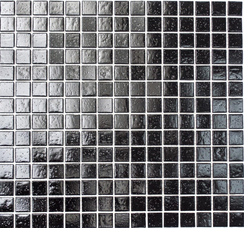 mosaico de red mosaico azulejos Uni Cristal Blanco Mosaico cuadrado con efecto Spots azulejos Espejo de pared Ba/ño o cocina
