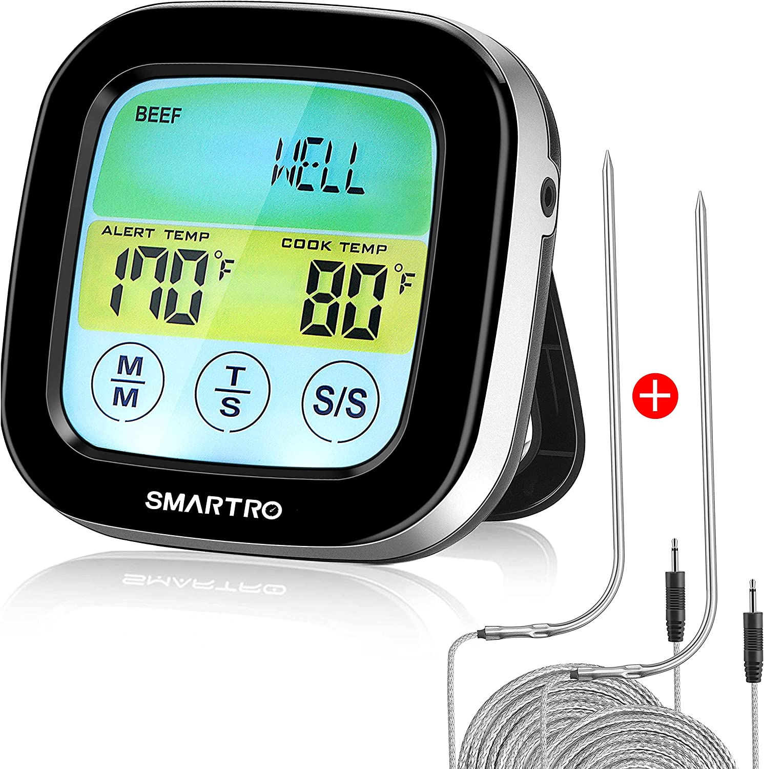 SMARTRO ST59 Genuine Free Shipping Digital Meat Thermometer Grill Ranking TOP2 BBQ Oven for Cooking