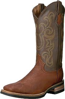 حذاء فيرريني الرجالي مافريك بني مربع اصبع القدم الغربية