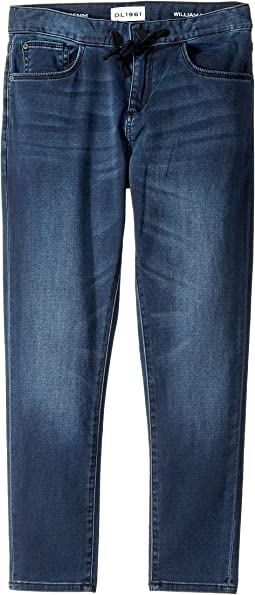 DL1961 Kids - William Track Chino in Reserve (Big Kids)