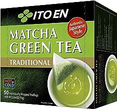 Ito En Traditional Matcha Green Tea 50 Count Zero Calories No Artificial Sweeteners Caffeinated Good Source of Vitamin C and Antioxidants BPA Free