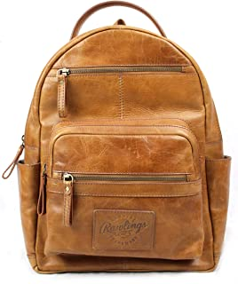 Rawlings Heritage Collection Leather Backpack (Tan, 15)