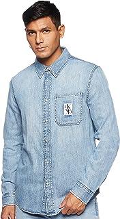 Calvin Klein Jeans Men's Button Down Shirt