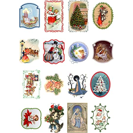 18 Sheets 8x11 Small Forest People Paper for Decoupage and Craft Vintage Painting Illustration by Elsa Beskow Decoupage Paper Pack