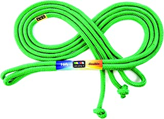 Just Jump It 16' Foot Single Jump Rope - Active Outdoor Youth Fitness - Double Dutch Length - Green