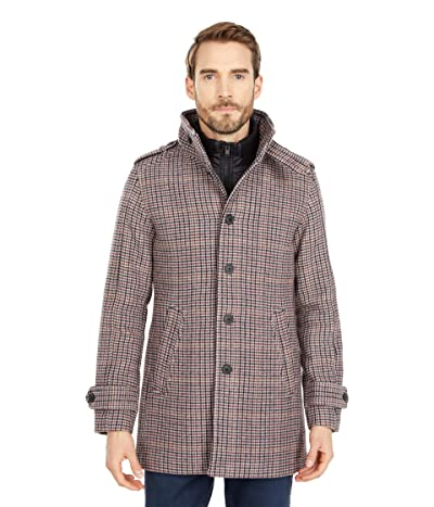 Selected Homme Noah Wool Coat (Beluga Multicolor) Men