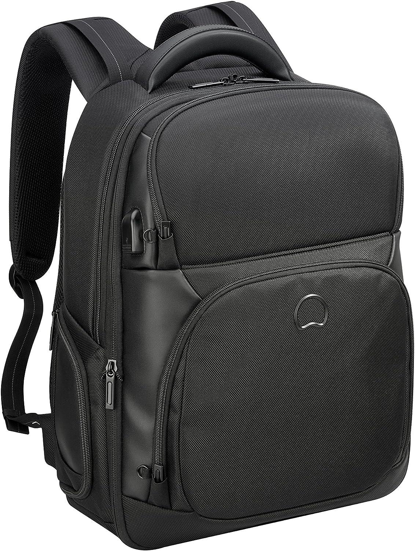 DELSEY PARIS Quarterback Premium Sac à dos loisir, 50 cm, 54 L, schwarz