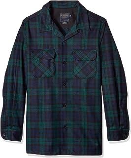Men's Long Sleeve Fitted Board Wool Shirt