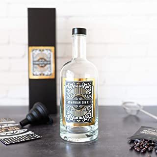 TASSIE GIN KITS - Gin Making Kit, Easy DIY Infusion Kit With 2 Botanical Spice Blends (Double The Fun), Enjoy Your Homemad...