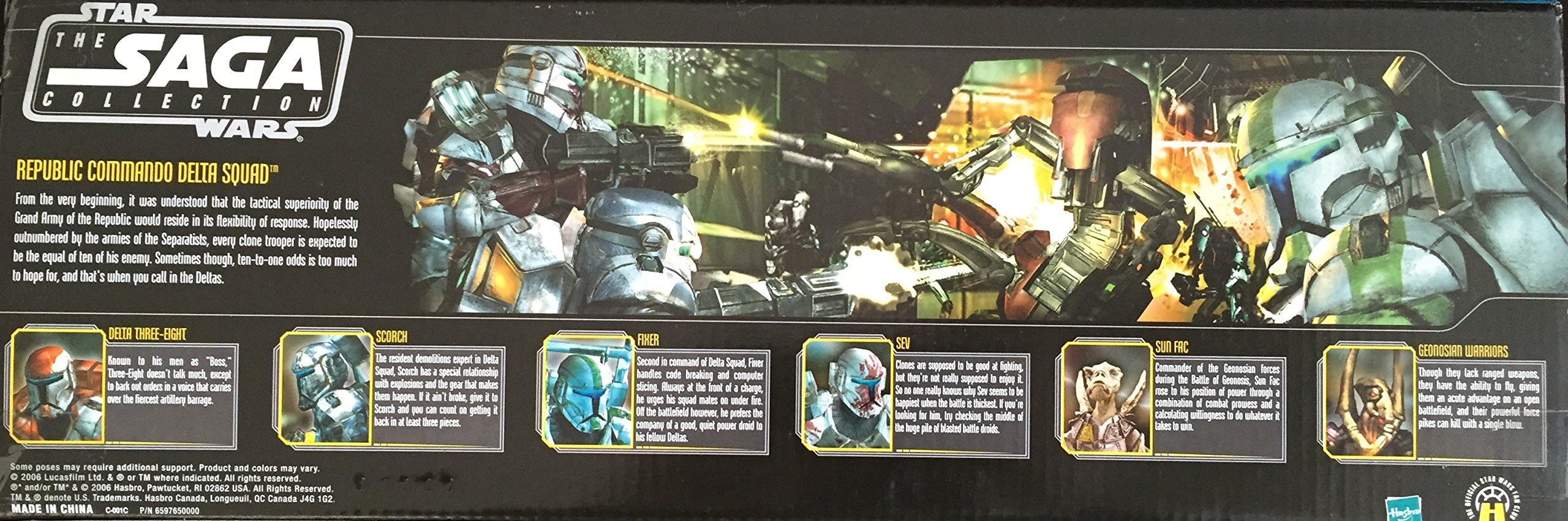 Entertainment Earth Star Wars Republic Commando Delta Squad Internet Exclusive Action Figures Box Set Amazon Com Au Toys Games