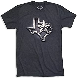 Texas T-Shirt Men's Gift Idea Novelty Distressed Design Lone Star State