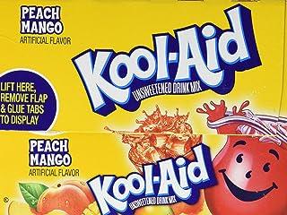 48 Kool Aid packets of Peach Mango Makes 96 quarts just add sugar