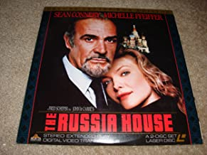 The Russia House A 2-DISC SET LASER DISC - Sean Connery Michelle Pfeiffer DELUXE LETTER-B0X EDITION