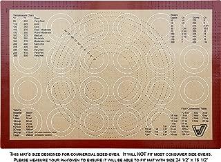 Silicone Baking Mat - Full Sheet Size (Thick & Large 24 1/2
