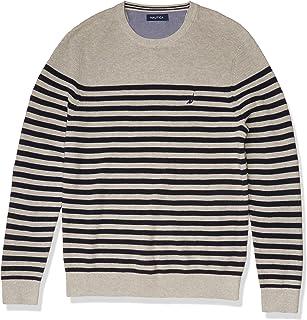 Men's Stripe Knit Sweater