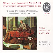 Mozart: Sinfonia Concertante in E flat major K.364 for violin, viola and orchestra; Duo in G major K.423; Due in B flat ma...