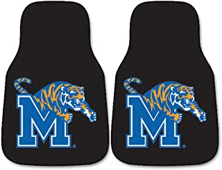 FANMATS NCAA University of Memphis Tigers Nylon Face Carpet Car Mat