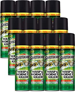 Spectracide HG-95715 Wasp & Hornet Killer, 20-Ounce, Case Pack of 12