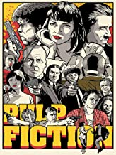 Pulp Fiction Poster Standard Size 18×24 inches