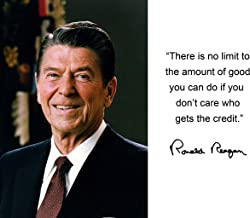 ronald reagan there is no limit