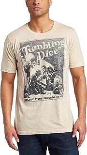 Bravado Men's The Rolling Stones Tumbling Dice T-Shirt