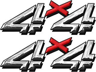 Best chrome 4x4 decals Reviews