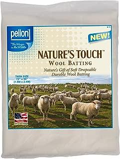 Pellon W-72 Twin Size Wool Batting, 72