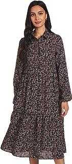 فستان فيولا طويل الاكمام للنساء من فيرو مودا
