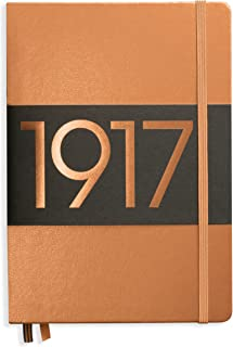 Leuchtturm1917 Medium A5 Ruled Hardcover Notebook (Copper) - 249 Numbered Pages