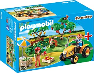 Playmobil StarterSet - Country Cosecha de la Huerta Playsets de Figuras de jugete, Color Multicolor (Playmobil 6870)