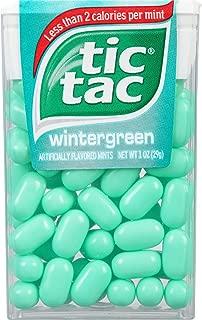 Tic Tac Mints, Wintergreen Singles, 1 oz (Pack of 36)