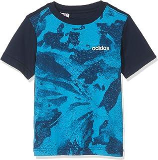 adidas Boys YB E AOP PR TEE T-Shirt (Short Sleeve)