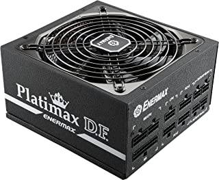 Enermax Platimax D.F. 80 PLUS Platinum Certified Full Modular 1200W Power Supply with Amazing DFR Technolohy and D.F. switch, Individual Sleeved Cable, 10 years Warranty , EPF1200EWT