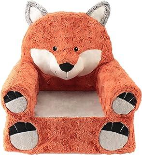 صندلی های حیوانات ماجراجویی صندلی های شیرین نارنجی روباه صندلی کودکان صندلی ماشین های بزرگ قابل شستشو پوشش