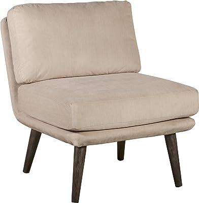 Elle Decor Sophie Accent Chair, Cream