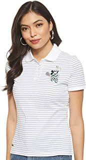 Lacoste Womens Pf1348 Short Sleeve Polo