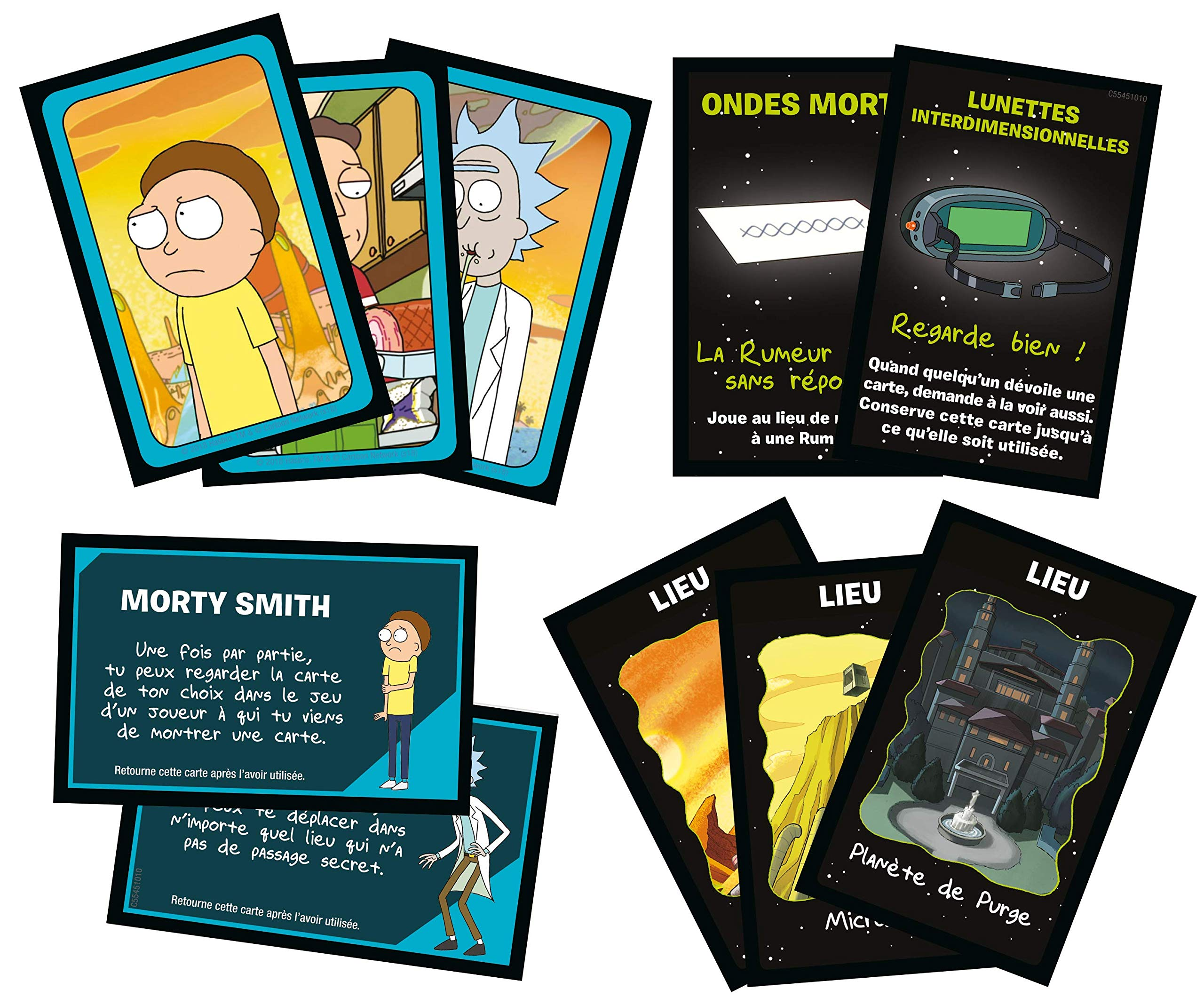 Winning Moves – Cluedo Rick y Morty, 0266, Version Francesa: Amazon.es: Juguetes y juegos