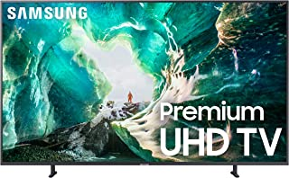 Samsung UN82RU8000FXZA Flat 82-Inch 4K 8 Series Ultra HD Smart TV with HDR and Alexa Compatibility (2019 Model), Gray