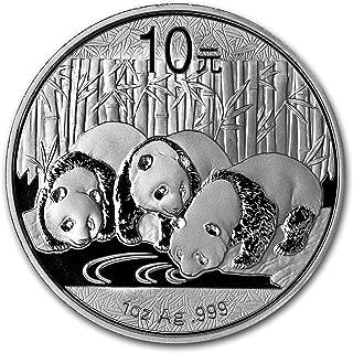 2013 CN China 1 oz Silver Panda BU (In Capsule) 1 OZ Brilliant Uncirculated