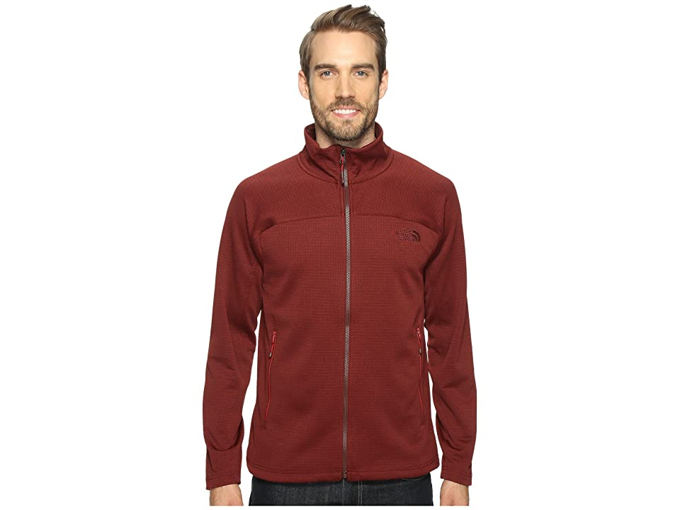 The North Face Needit Full Zip (Sequoia Red Heather/Sequoia Red Heather (Prior Season)) Men