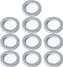 Prime Ave Crush Aluminum Oil Drain Plug Gasket Washers For Hyundai & Kia Part# 21513-23001 (Package of 10)