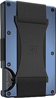 The Ridge Wallet Authentic   Minimalist Metal RFID Blocking Wallet with Cash Strap   Wallet for Men   RFID Minimalist Wall...
