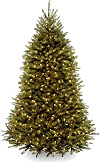 National Tree 6 Foot Dunhill Fir Tree with 600 Clear Lights