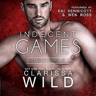 Indecent Games Duet - Boxed Set: Dark Billionaire Romance Suspense